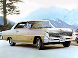 Pictures of Chevrolet Chevy II Nova Sport Coupe (11537) 1966