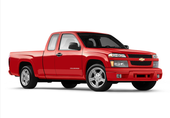 Chevrolet Colorado Sport Extended Cab 2004–11 wallpapers