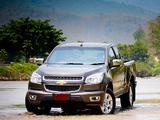 Photos of Chevrolet Colorado Z71 Extended Cab TH-spec 2012