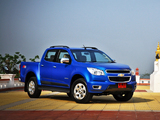 Wallpapers of Chevrolet Colorado Z71 Double Cab TH-spec 2012