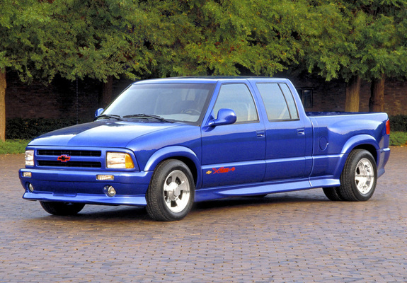 Pictures of chevrolet s 10 v8 xtreme pickup 2003