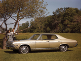 Pictures of Chevrolet Chevelle Concours Sport Sedan 1968
