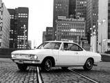 Chevrolet Corvair Monza Hardtop Coupe (10537) 1968 wallpapers