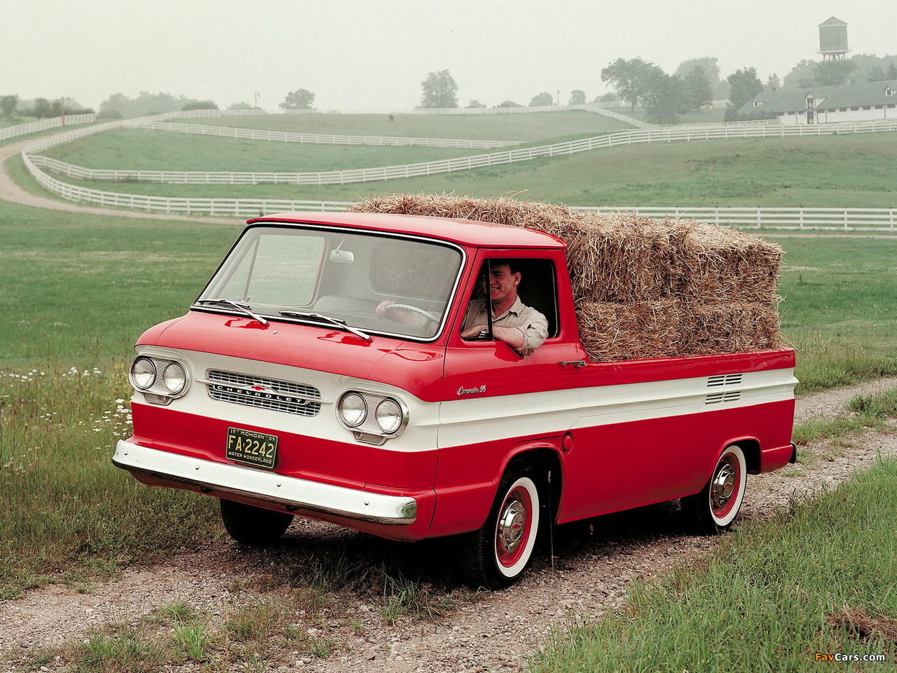 Wallpapers of Chevrolet Corvair 95 Rampside 1961–64 (1280 x 960)