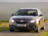 Chevrolet Cruze Hatchback UK-spec (J300) 2011–12 photos