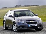 Chevrolet Cruze Hatchback UK-spec (J300) 2011–12 pictures