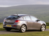 Images of Chevrolet Cruze Hatchback UK-spec (J300) 2011–12