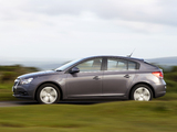 Pictures of Chevrolet Cruze Hatchback UK-spec (J300) 2011–12