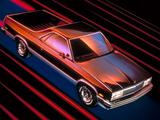 Chevrolet El Camino 1982–87 pictures