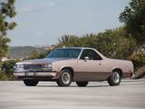 Chevrolet El Camino 1982–87 wallpapers