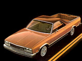Images of Chevrolet El Camino Conquista 1982–87