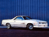Pictures of Chevrolet El Camino SS by Choo Choo Customs 1984–87