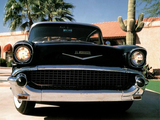 Chevrolet El Morocco by R. Allender & Co. 1957 wallpapers