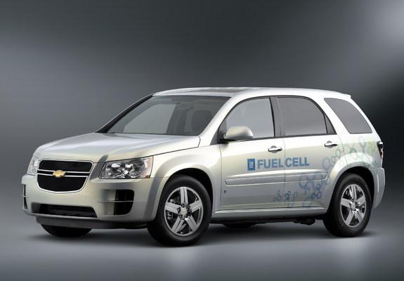Chevrolet equinox fuel cell 2007 09 photos 2048x1536
