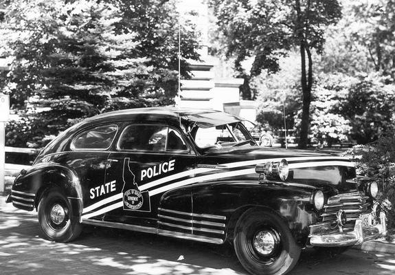 Chevrolet fleetline aerosedan police 1947 wallpapers for 1947 chevy fleetline 4 door