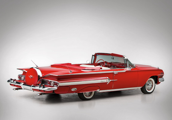 Images of Chevrolet Impala 348 Special Turbo-Thrust Convertible 1960