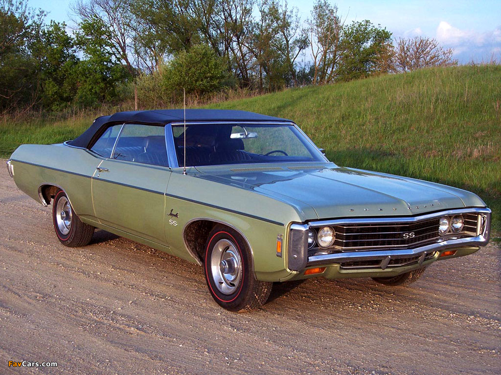 1969 chevy impala ss submited images