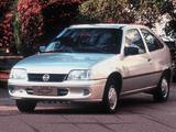 Wallpapers of Chevrolet Kadett 3-door 1995–98