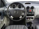 Chevrolet Kalos 3-door (T200) 2003–08 images