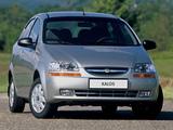 Chevrolet Kalos Sedan (T200) 2003–06 wallpapers