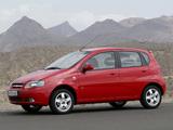 Chevrolet Kalos 5-door (T200) 2003–08 wallpapers