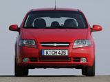 Pictures of Chevrolet Kalos 5-door (T200) 2003–08