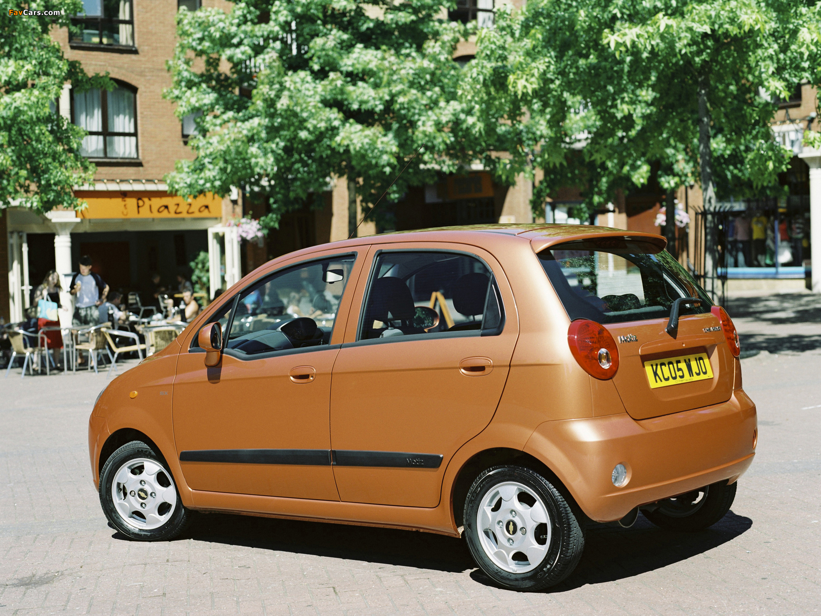 chevrolet matiz uk spec m200 2005 07 photos 1600x1200. Black Bedroom Furniture Sets. Home Design Ideas