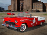 Chevrolet Bel Air Indianapolis 500 Pace Car 1955 & Corvette Grand Sport Coupe 2011 photos