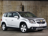 Chevrolet Orlando ZA-spec 2010 photos