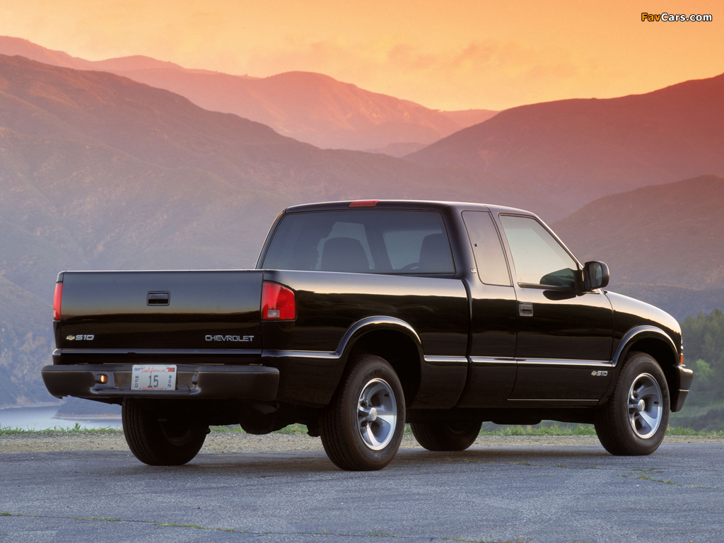 images of chevrolet s 10 extended cab 1998 2003 1024x768. Black Bedroom Furniture Sets. Home Design Ideas