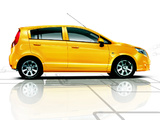 Chevrolet Sail Hatchback 2010 wallpapers