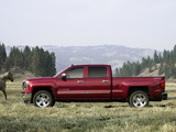 Chevrolet Silverado LTZ Crew Cab 2013 wallpapers