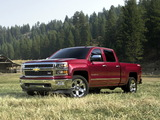 Images of Chevrolet Silverado LTZ Crew Cab 2013