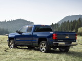 Photos of Chevrolet Silverado Z71 Extended Cab 2013