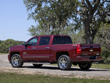 Chevrolet Silverado High Country Crew Cab 2013 wallpapers