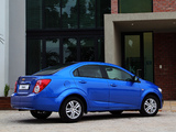 Chevrolet Sonic Sedan ZA-spec 2012 images