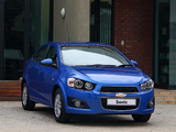 Chevrolet Sonic Sedan ZA-spec 2012 photos