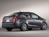 Photos of Chevrolet Sonic Dusk 2012