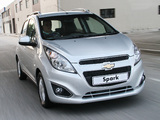 Chevrolet Spark ZA-spec (M300) 2013 images
