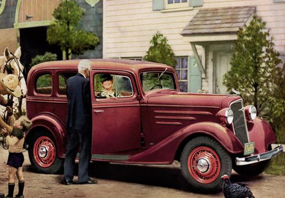 Pictures of chevrolet standard 4 door sedan ec 1935 for 1935 chevrolet 4 door sedan