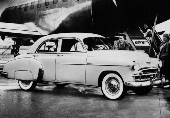 Chevrolet deluxe styleline 4 door sedan 2103 1069 1949 for 1949 chevy 4 door sedan