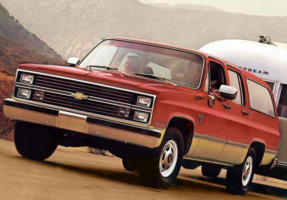 Wallpapers Chevrolet Suburban B