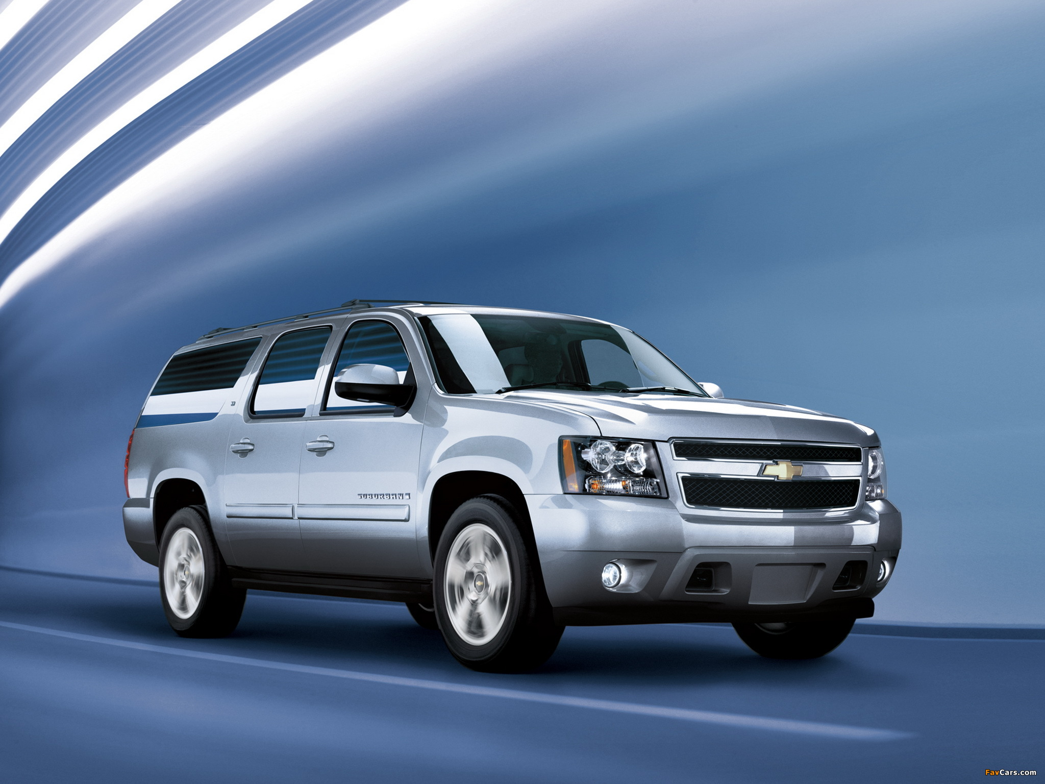 Wallpapers of Chevrolet Suburban (GMT900) 2006 (2048x1536)