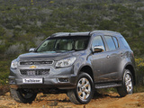 Chevrolet TrailBlazer ZA-spec 2012 photos