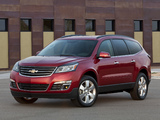 Pictures of Chevrolet Traverse LTZ 2012