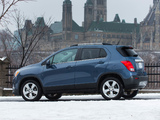 Chevrolet Trax CA-spec 2012 wallpapers