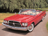 Chrysler 300F Convertible 1960 photos