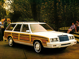 Chrysler LeBaron Town & Country Wagon 1982 wallpapers