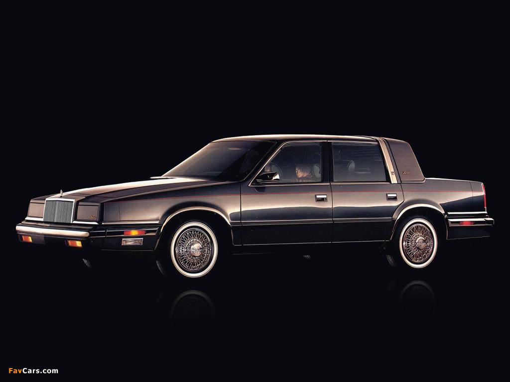 Wallpapers Of Chrysler New Yorker Landau 1988 91 1024x768