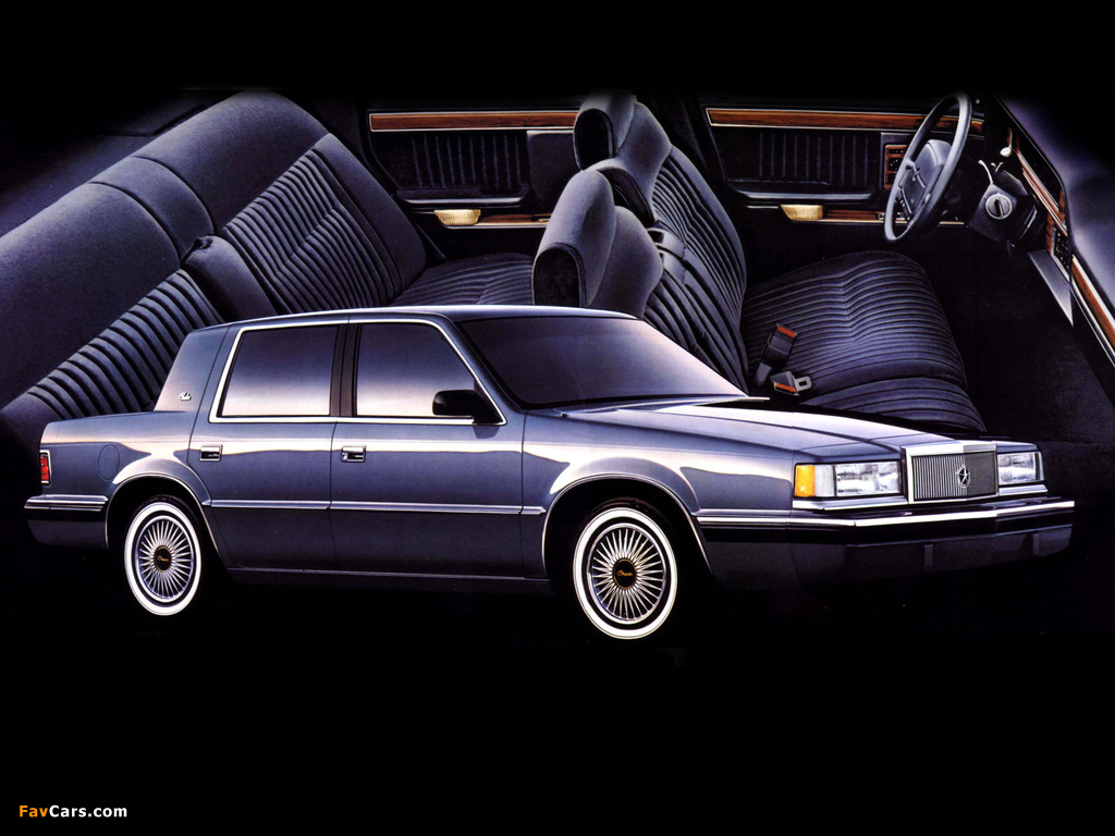 Wallpapers of chrysler new yorker salon 1990 1024x768 for 1990 chrysler new yorker salon